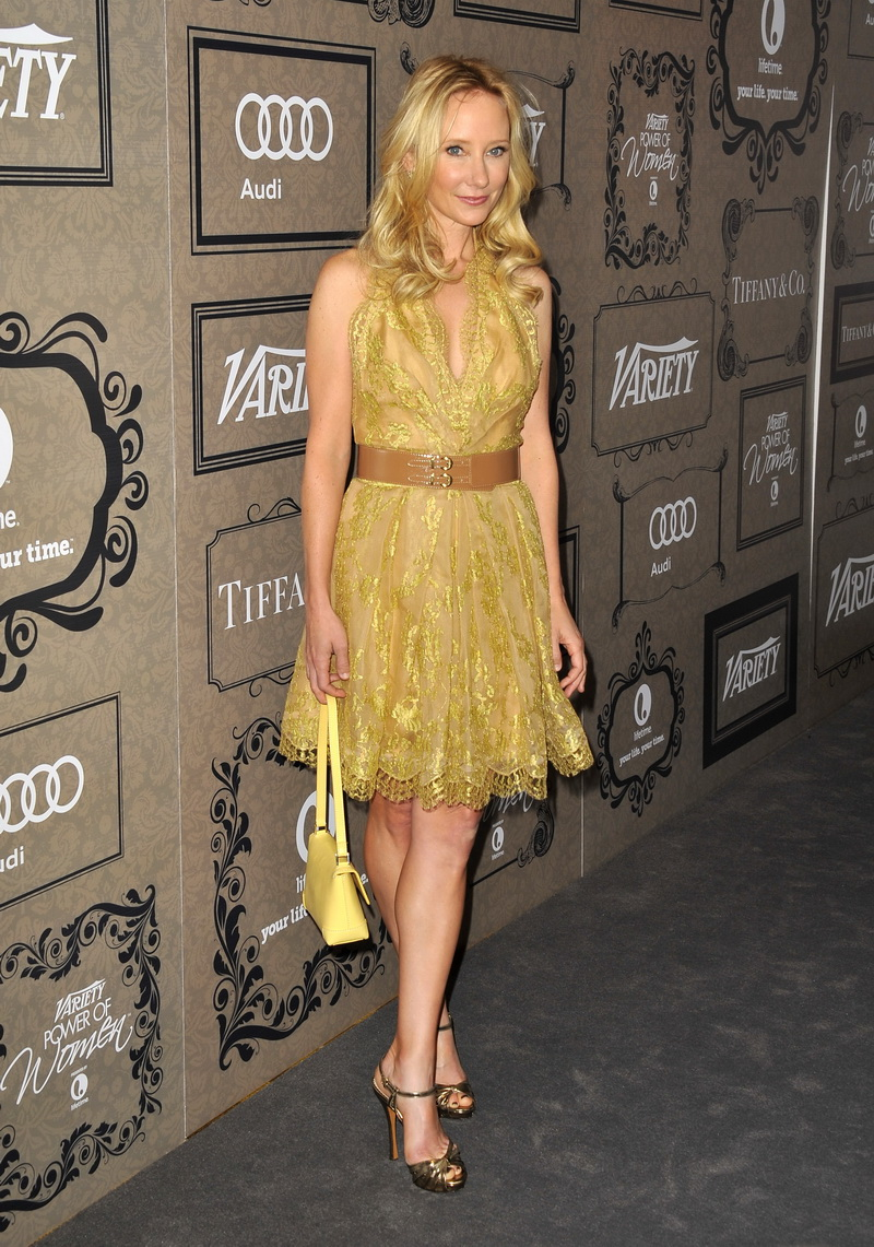 Anne Heche at the 4th Annual Variety Power of Women Event ...