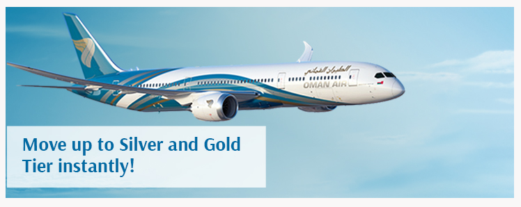 Frequent Flyer Bonuses Oman Air 14 Sindbad Members Will Be