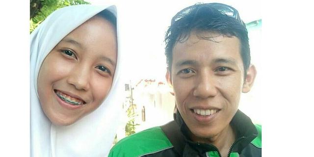 Kisah Mengharukan.. 7 Tahun Hilang Kontak, Anak dan Ayah Dipertemukan Lewat Ojek Online