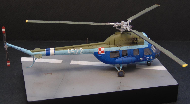 Helicopter 1:72 Poland MI-2T Hoplite