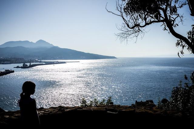 Vista de Ceuta desde el mirador del Parque de San Amaro