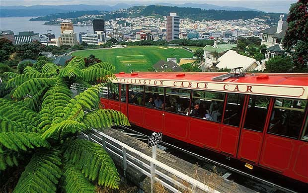 Wellington Cable Car: The Wellington City
