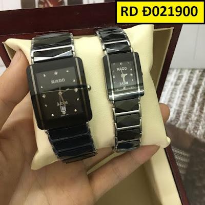 Đồng hồ mặt vuông Rado RD Đ021900