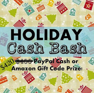 Over $400 in Holiday Cash Bash Giveaway