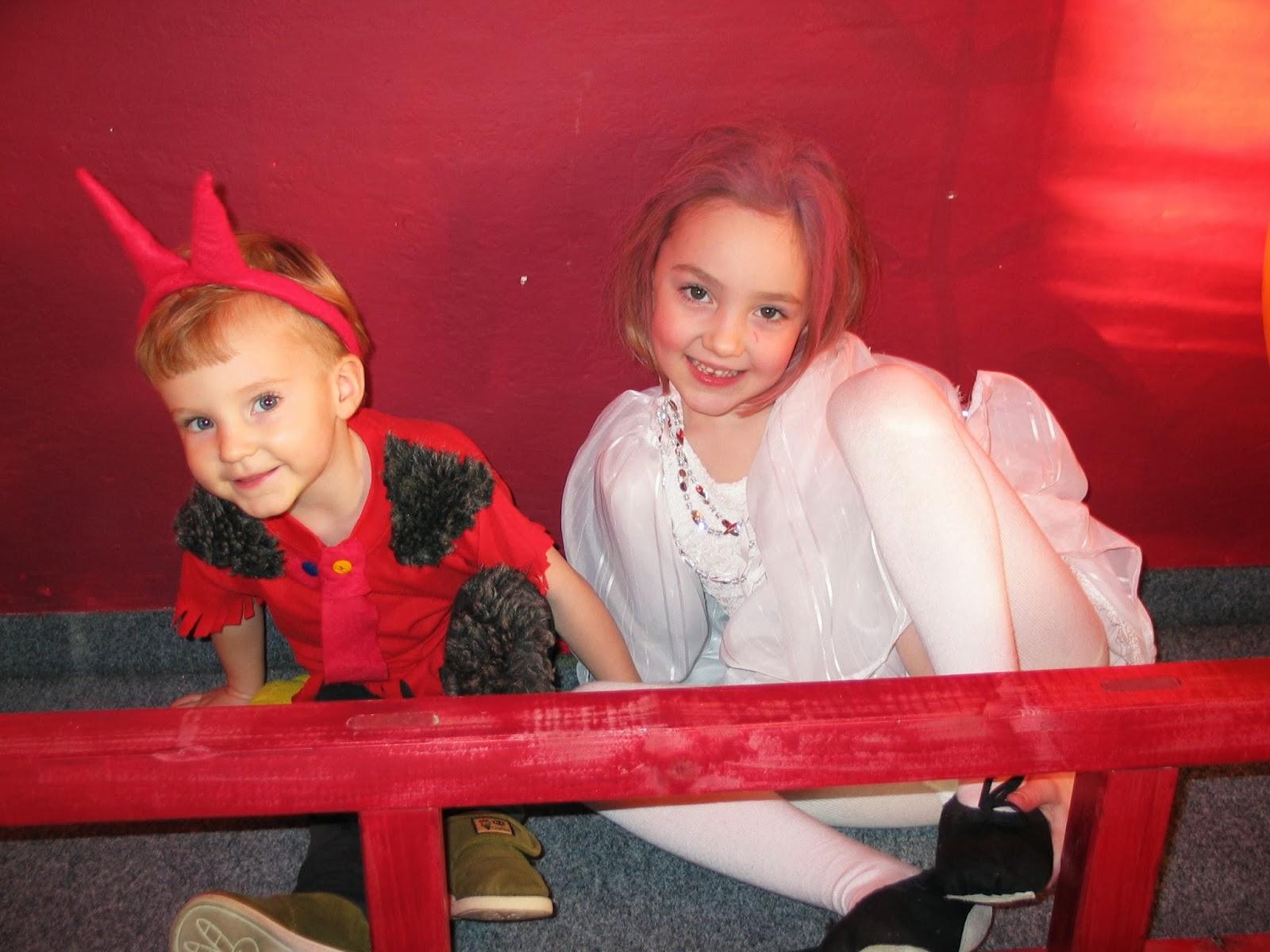 děti na karnevale