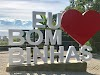 Letreiro Turístico Eu Amo Bombinhas