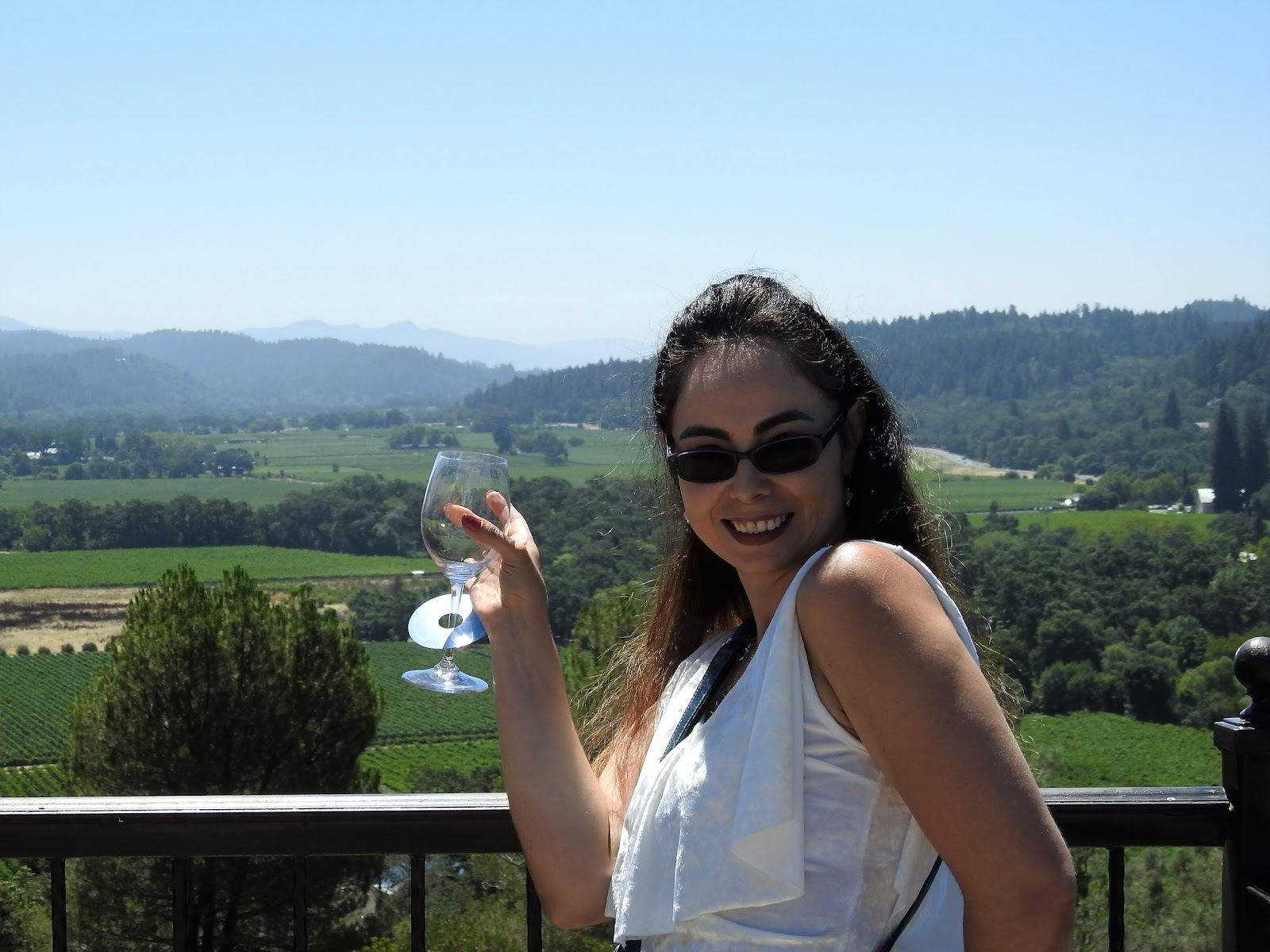 wine in napa