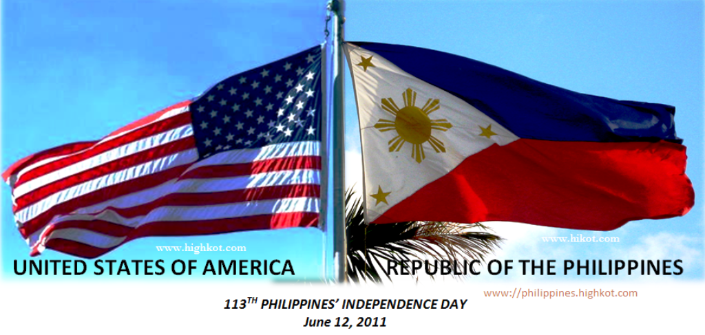 The Philippines Received A Congratulatory Message For 113th Independence Day From United States Where Secretary Of State Hillary Clinton Reured