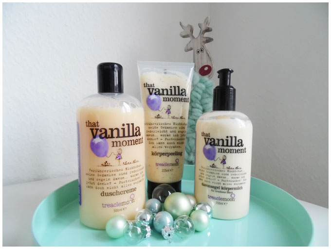 Treaclemoon That Vanilla Moment #beauty #treaclemoon #thatvanillamoment #showergel #bodypeeling #bodymilk http://junegold.blogspot.de