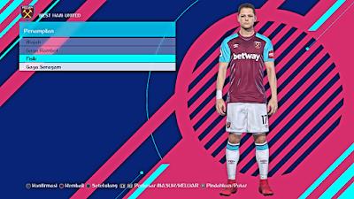 PES 2018 English Premier League Wet Kits Season 2017/2018 by affan7x