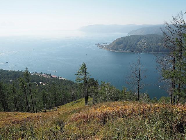 Байкал, вид с камня Черского (Baikal, view from Chersky stone)
