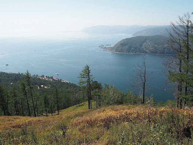 Байкал, вид с камня Черского