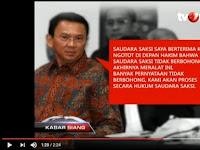 Skakmat! Video BUKTI REKAMAN Ahok Mengancam Proses Hukum pada KH. Ma'ruf Amin, Mau Dibantah?