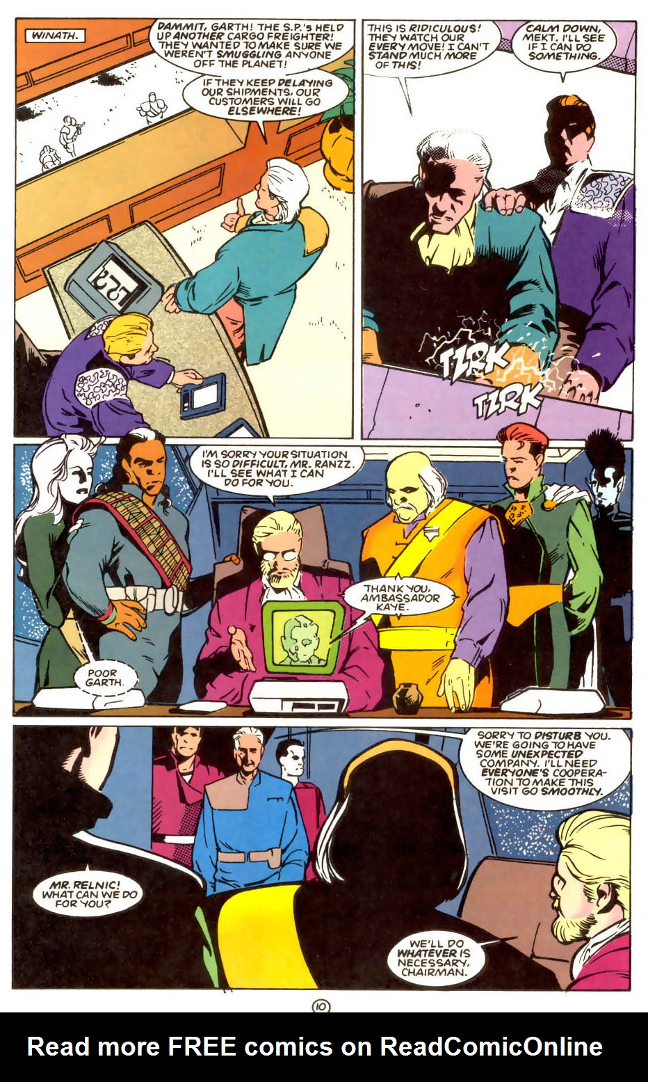 Legion of Super-Heroes (1989) 56 Page 10