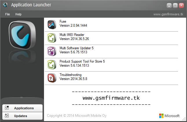 Nokia Care Suite PST 5.6.134.1513 - GSM FIRMWARE