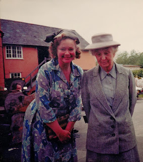Daphne Neville appearing in 'Miss Marple' with Joan Hickson