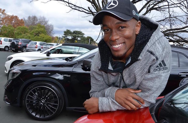 Akani simbine named mercedes benz brand ambassador phil for Mercedes benz brand ambassador