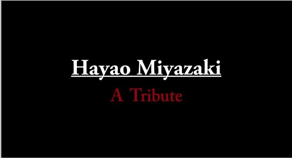 フランスの方が作った、宮﨑駿氏が監督を務めたジブリ作品に敬意を捧げたトリビュート映像