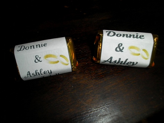 The Hillbilly Princess Diaries How To Create Candy Bar Wrappers