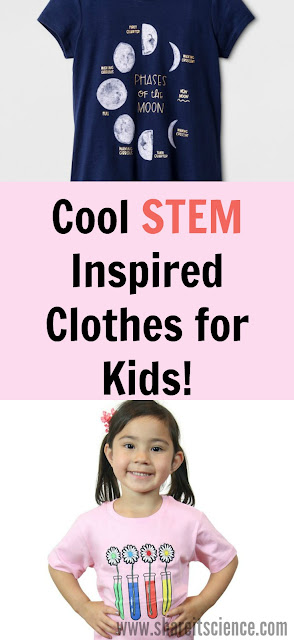 Affordable Cool STEM and Science Clothing for Kids