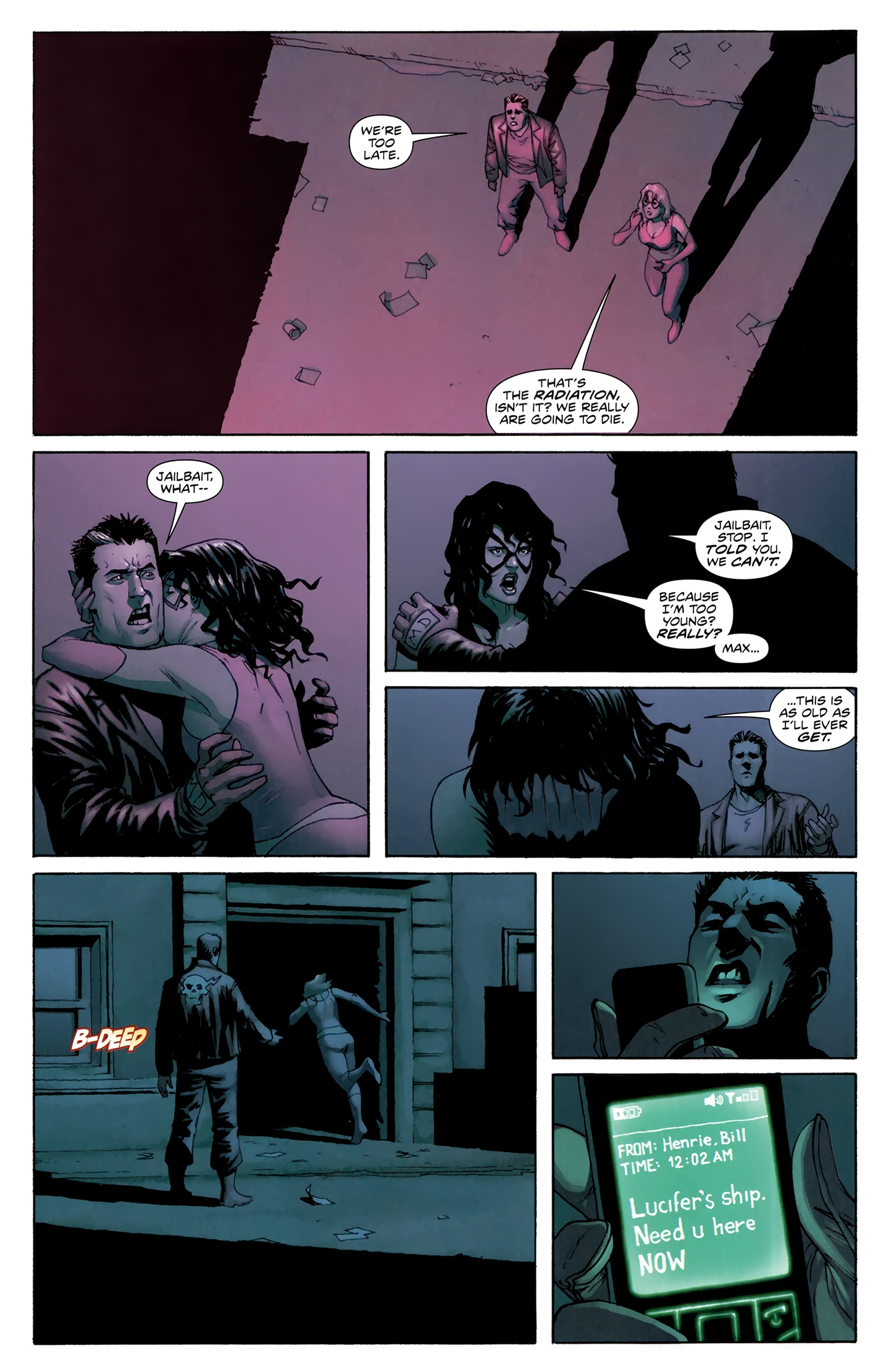 Read online Incorruptible comic -  Issue #30 - 16
