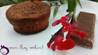 Belle présentation pour ce gâteau aérien au chocolat
