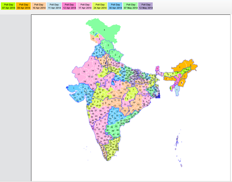 4dbb84d9c8e Election Commission of India makes finding Polling Stations easier with GIS
