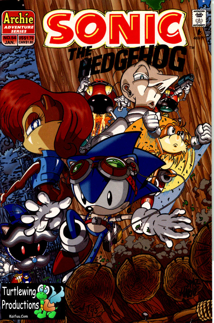 Read online Sonic The Hedgehog comic -  Issue #54 - 1