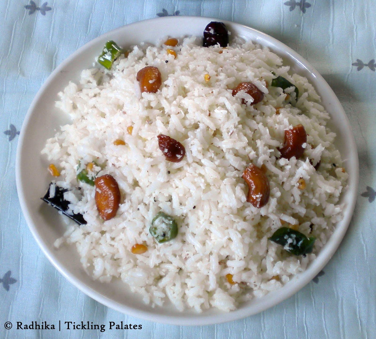 Coconut Rice | Tickling Palates