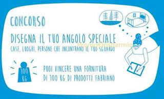 Logo Disegna il tuo angolo speciale e vinci gratis 100 kg di prodotti Fabriano
