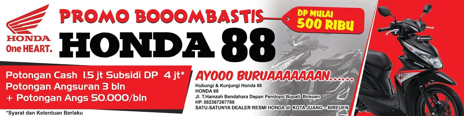 Contoh Spanduk Dan Banner Promosi Honda Abad29studio