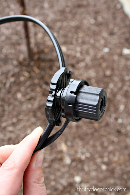 how to wire landscaping lights