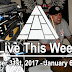 Live This Week: December 31st, 2017 - January 6th, 2018