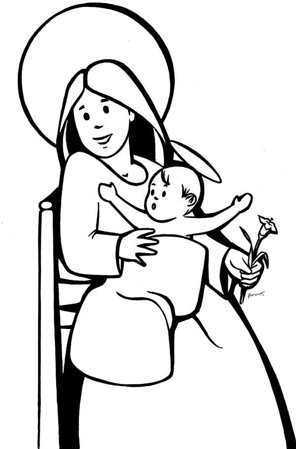 Dibujos Mara Madre de Dios  Compartiendo por amor