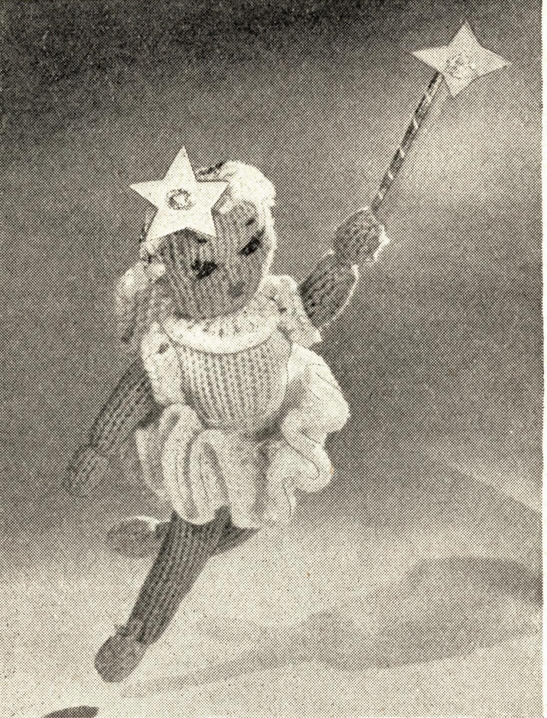 The Vintage Pattern Files: Free 1950's Knitting Pattern - Fairy Topper