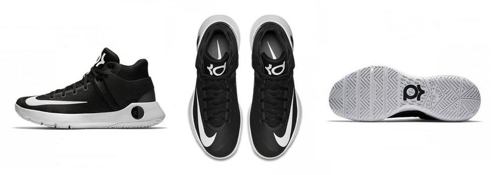 Sepatu Basket Nike KD Trey 5 IV Black Original