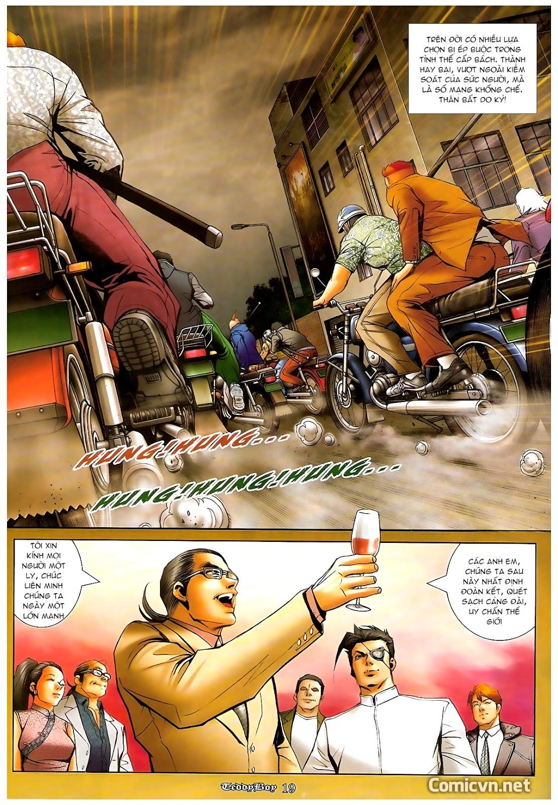 Người Trong Giang Hồ - Chapter 1218: 1 vs 1000 - Pic 18