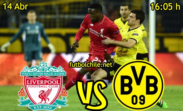 VER STREAM RESULTADO EN VIVO, ONLINE: Liverpool vs Borussia Dortmund
