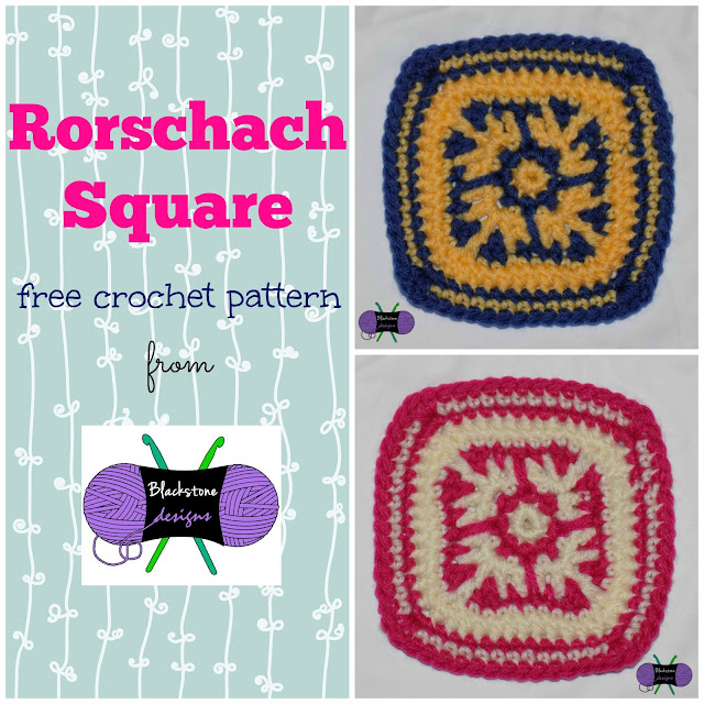 Afghan Granny Square Crochet Pattern