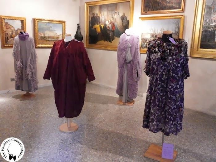 Valentina Cortese - Mostra Milano - Room dedicated to Maurizio Galante's dresses