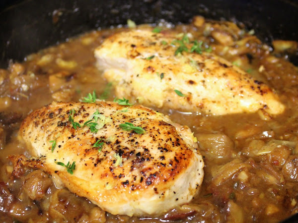 Yummy Date Night Chicken (Gluten Free Date Shallot Artichoke Chicken)