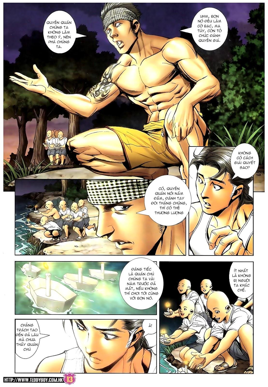 Người Trong Giang Hồ - Chapter 1392: Hắc Thế Lực Lào - Pic 12