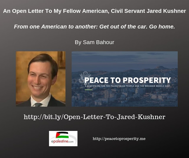 An Open Letter To My Fellow American, Civil Servant Jared Kushner