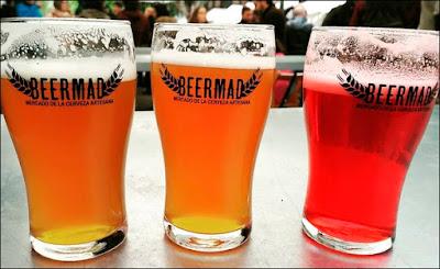 Cervezas artesanales en Beermad