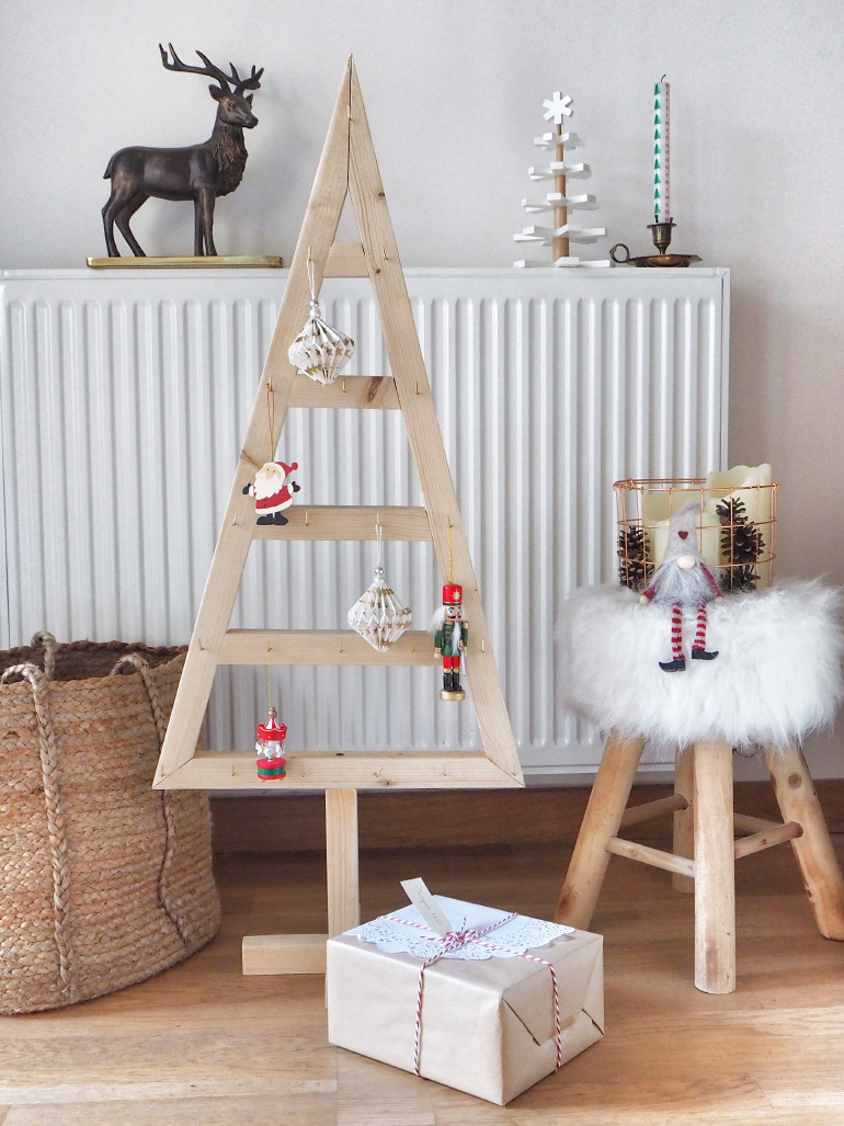 Do-it-yourself - sapin de Noël d'inspiration scandinave