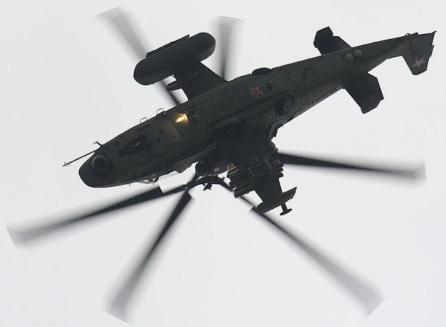 Gambar 08. Foto Helikopter Tempur Kamov Ka-52 Alligator
