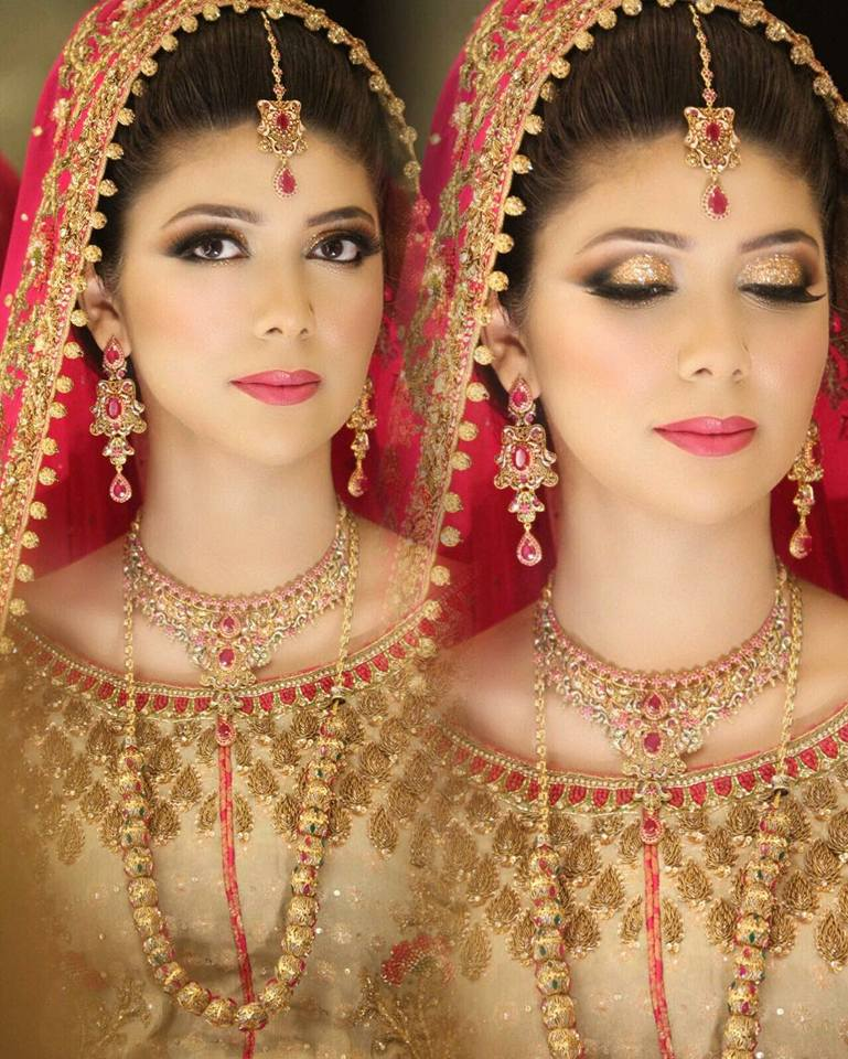 Natasha Salon Bridal makeup