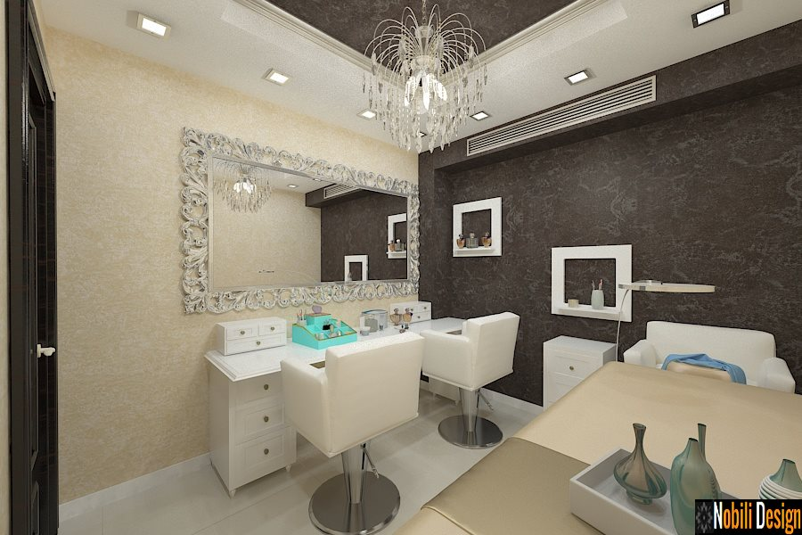 Design interior salon cosmetica – Amenajare salon de infrumusetare / Beauty Salon - Bucuresti