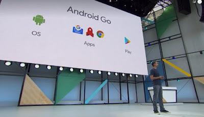 Acara peluncuran Android Go