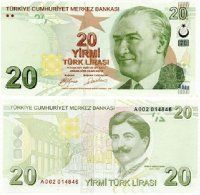 Turkish 20 Lira